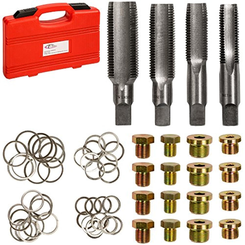 X AUTOHAUX Lot de 20 Joints de Bouchon de vidange 10 mm ID 18 mm OD.