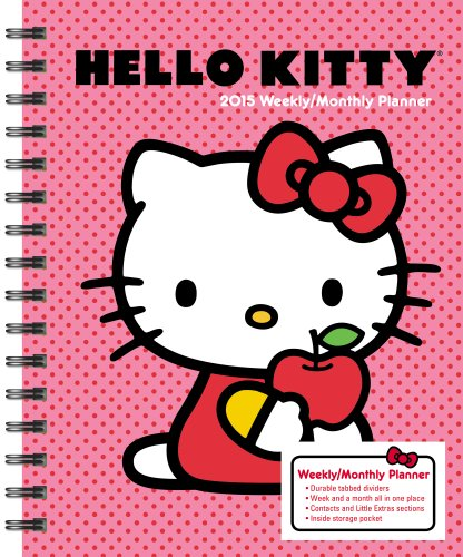 Hello Kitty 2015 Weekly/ Monthly Planner Calendar (2015 Planner Calendar Monthly)