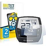 BROTECT 2x Antireflecterende Beschermfolie compatibel met Bosch Intuvia Active Line (E-Bike Display) Anti-Glare Screen Protec