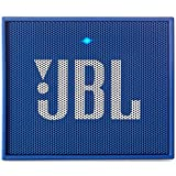 JBL Go Ultra Wireless Bluetooth Lautsprecher (3,5 mm AUX-Eingang, geeignet für Apple iOS und Android Smartphones, Tablets und MP3 geräten) blau