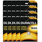 20x Duracell CR1620 DL1620 ECR1620 3V Lithium Button Battery Coin Cell Batteries