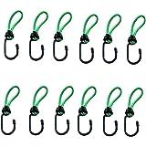 Timtina Expanderhaken in verschillende kleuren en hoeveelheden (groen, 12 stuks expanderhaken)