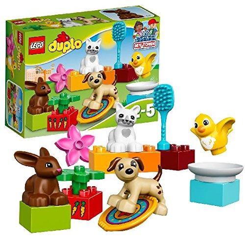 LEGO Duplo Town - Mascotas familiares (10838)