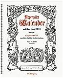 Appenzeller Kalender 2019: mit Behördenverzeichnis AI/AR/SG/TG