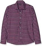 Tommy Hilfiger Jungen Hemd Multicolor Oxford Check Shirt L/S, Mehrfarbig (Apple Red/Multi 627), 140 (Herstellergröße: 10)