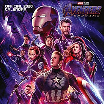 Marvel Avengers End Game 2020 Calendar - Official Square Wall Format Calendar