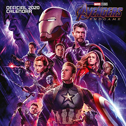 Marvel Avengers End Game 2020 Calendar - Official Square Wall Format Calendar par Marvel Comics