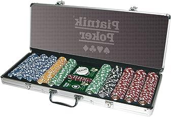 Piatnik  790492 - Pro Poker Alukoffer 500 High Gloss Chips