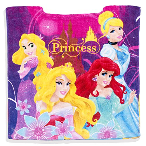 Con licenza ufficiale disney princess kids girls poncho asciugamano da bagno e beach time – new 2017