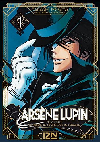 Couverture du livre Arsène Lupin - tome 01 - extrait offert