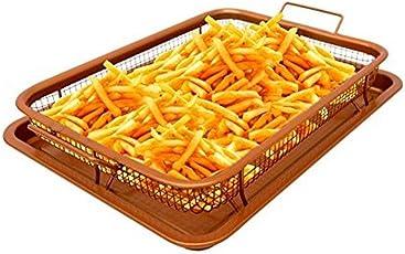 ToGames-DE Fry Französisch Chef Halter Küche Fry Französisch Chef Basket Kochen knusprige Fach