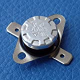 Electronics-Salon 10PCS Normalerweise schließen KSD301 NC 50 °C, Thermostat Bimetall Disc Temperatur-Schalter.