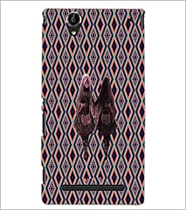 PrintDhaba Sleeping Girl D-3185 Back Case Cover for SONY XPERIA T2 ULTRA (Multi-Coloured)