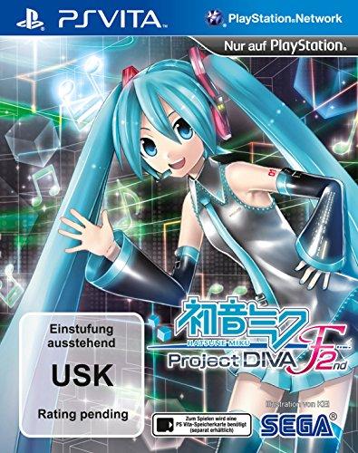 Hatsune Miku: Project DIVA F 2nd (PSVita) (Diva 2nd Hatsune Project F Miku)
