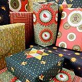 Bright Stem 6 Blatt Weihnachts-Geschenkpapier gemischt (gefaltet) und Tags
