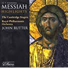 Handel: Messiah highlights (John Rutter, Cambridge Singers) (Collegium)