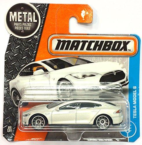 Matchbox DVN52 - Tesla Models S weiß 26/125