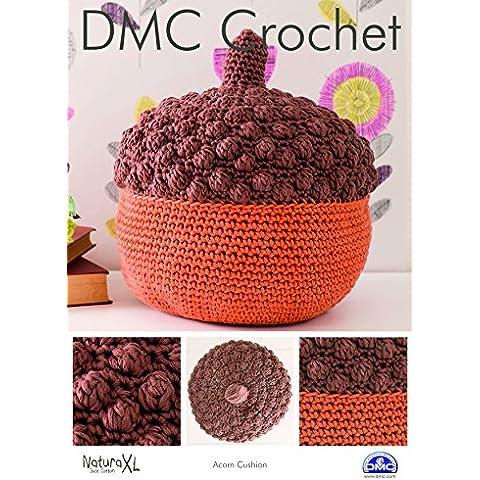 DMC Acorn tarjeta de patrón cojín, multicolor