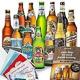 12x Bier Geschenke Welt & Deutschland Geschenkset mit Bier aus Türkei + Dänemark + Niederlande +…Efes + Tuborg + Heineken +… und aus Deutschland. Tolles Bier Geschenk für Männer mit Biersorten aus ganz Deutschland und aus aller Welt. Besser als Bier selber machen oder selbst brauen. Biergeschenke für Papa + Vater + Väter + Opa + … Vatertag Geschenke für Männer mit Bier. Männertag + Vatertagsgeschenke / Männertagsgeschenke mit Bier. Leckere Bier Ideen Vatertag / Ideen Männertag