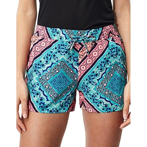 O'Neill Women's Print Holiday Beach Street Wear Shorts, Womens, Print beach holiday shorts