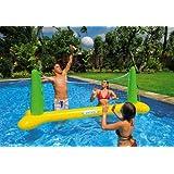 56508 Intex Rete pallavolo gonfiabile gigante da piscina con palla !