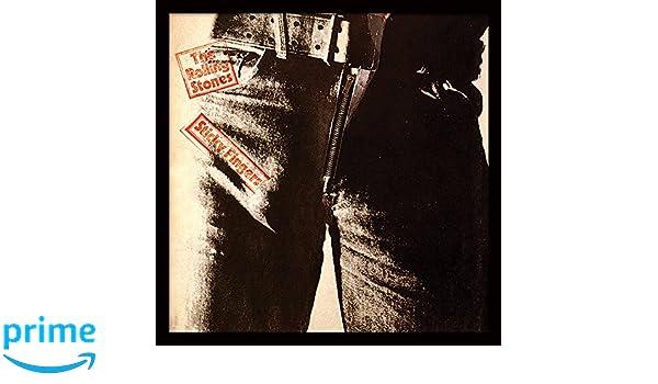 MDF 32 x 32 x 1.5 cm Rolling Stones A Bigger Bang 12 Album Cover Framed Print Multi-Colour