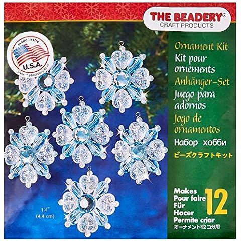 Vacanza in rilievo ornamento Filagree-Kit fiocco di neve 1-3/4