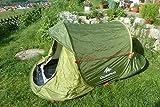 Quechua Wurfzelt 2 Seconds Easy für 2 Personen Popup Wurfzelt Grün