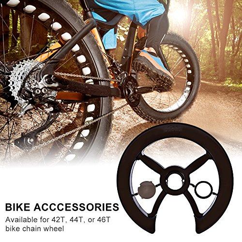 Tbest Fahrrad Kettenschutz Kettenschutzring, MTB Mountainbike Fahrrad kettenblatt Schutz Fahrrad kettenrad Abdeckung Kettenschutzscheibe für Rennrad Kettenschutz Schutzhülle