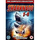 Sharknado 1-4 Box Set