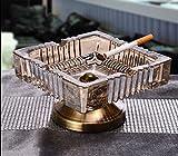 Aschenbecher Mode Wohnzimmer Aschenbecher Glas Kristall Probenraum Couchtisch Kleine Candy Dish ( Farbe : #2 )