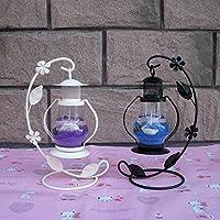MMMM-Gancio retrò piccola lanterna candeliere jelly romantico ragazze regali di compleanno ornamenti,Viola