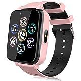 Reloj Teléfono para Niños, Smartwatch para Niña y Niño Pantalla Táctil con Música, 14 Juegos, Cámara, Linterna, Alarma, Reloj