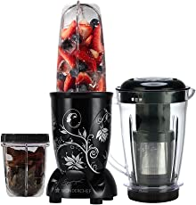 Wonderchef Nutri 63152587 400-Watt Blender with Juicer Attachment (Black)