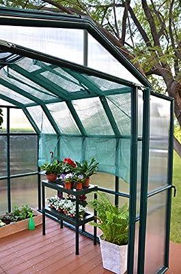 2,67 x 5,14 m Gewächshaus Grand Gardener 48 von Rion - Du und dein Garten