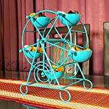 MIB Ferris Wheel 5 Cups Blue Cupcake Stand Holder | Decorating Wedding Supplies