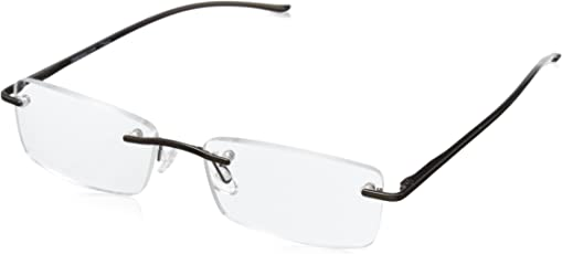 Peepers Men's Lucky Penny Rectangular Reading Glasses