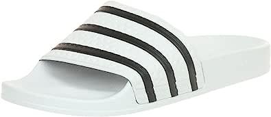 adidas Adilette, Unisex – Adulto Ciabatte,White Core Black White, 7 UK