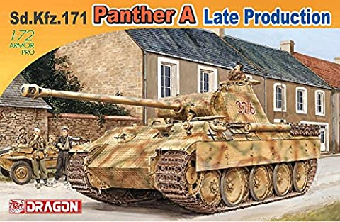 DRAGON D7505 SD.KFZ 171 PANTHER A LATE PRODUCTION KIT 1:72