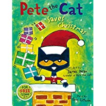 Pete the Cat Saves Christmas (English Edition)