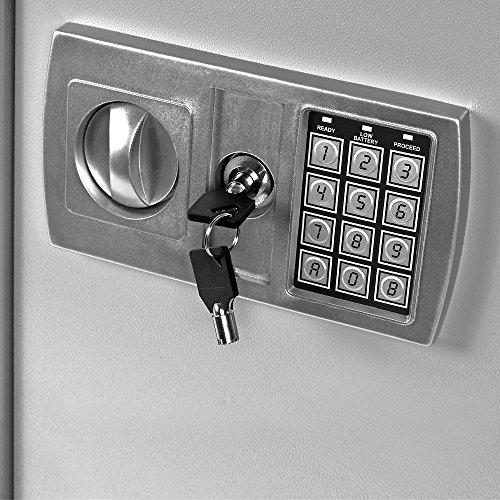 Dokumententresor 35x40x40cm – Safe Tresor Möbeltresor mit Elektronikschloss - 3