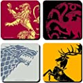 Game Of Thrones Set of 4 Coasters