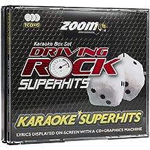 Zoom Karaoke CD+G - Driving Rock Superhits - Triple CD+G Karaoke Pack