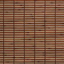 madera con estor enrollable madera enrollable para ventanas y puertas braun b l cm x