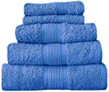 Catherine Lansfield Home 100% Cotton Hand Towel, Cobalt Blue