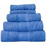 Catherine Lansfield Cl Home Bath Sheet, Cobalt Blue