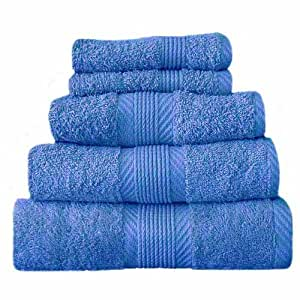 Catherine Lansfield Home 100% Cotton Bath Sheet, Cobalt Blue