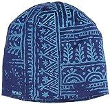 Had Merino Beanie Woodcut Sky Mütze, Blau, One Size