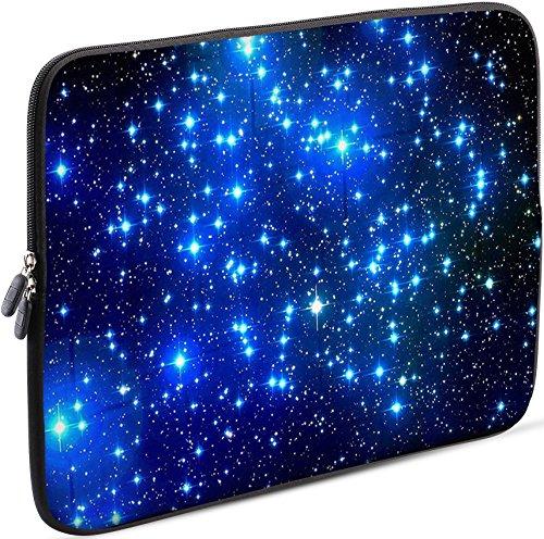 Sidorenko 11,6-12 Zoll Laptoptasche - Laptop Hülle - für MacBook/Chromebook aus Neopren, Netbook Tasche Blau