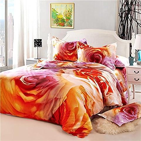 LLYY-2015 felice moda sposa tessile casa quattro set 3D canvas cotone quattro set biancheria da letto in vendita , picture 1 , 200*230cm